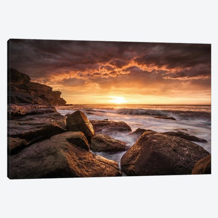 Cape Solander Canvas Print #OXM1450} by Grant Galbraith Canvas Print