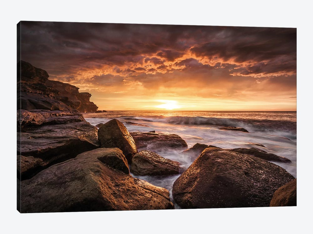 Cape Solander by Grant Galbraith 1-piece Canvas Print