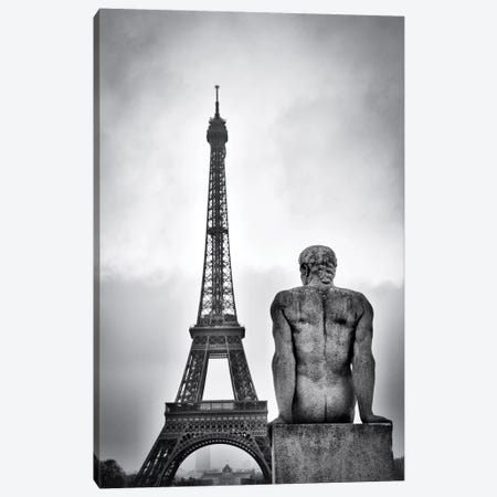 Steel Lady Canvas Print #OXM1456} by Guillaume Vigoureux Canvas Artwork