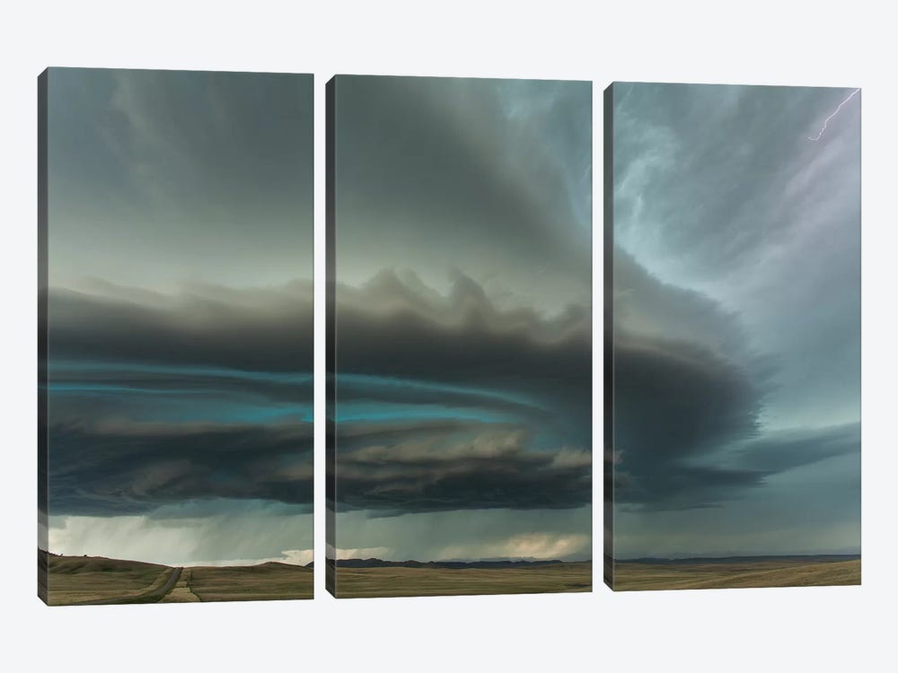 Huge Supercell by Guy Prince 3-piece Canvas Artwork