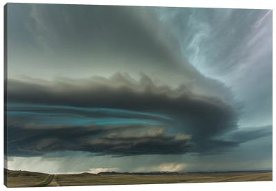 Huge Supercell Canvas Art Print