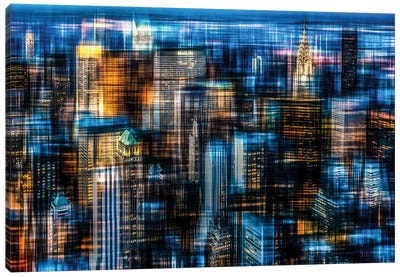 Downtown II.B Canvas Art Print