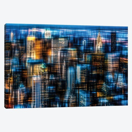 Downtown II.B Canvas Print #OXM1462} by Hannes Cmarits Canvas Art