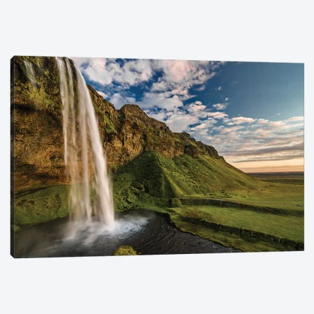 Seljalandsfoss Canvas Print #OXM1502} by Henrik Spranz Canvas Print
