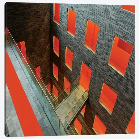 The Orange Carpet Canvas Print #OXM1524} by Huib Limberg Canvas Art