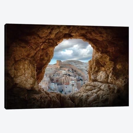 A Hole In The Wall Canvas Print #OXM1526} by Ido Meirovich Canvas Artwork