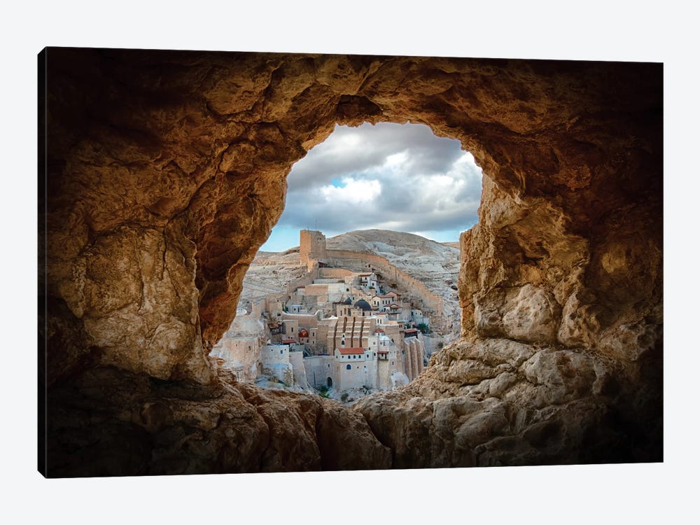 A Hole In The Wall by Ido Meirovich 1-piece Canvas Art Print
