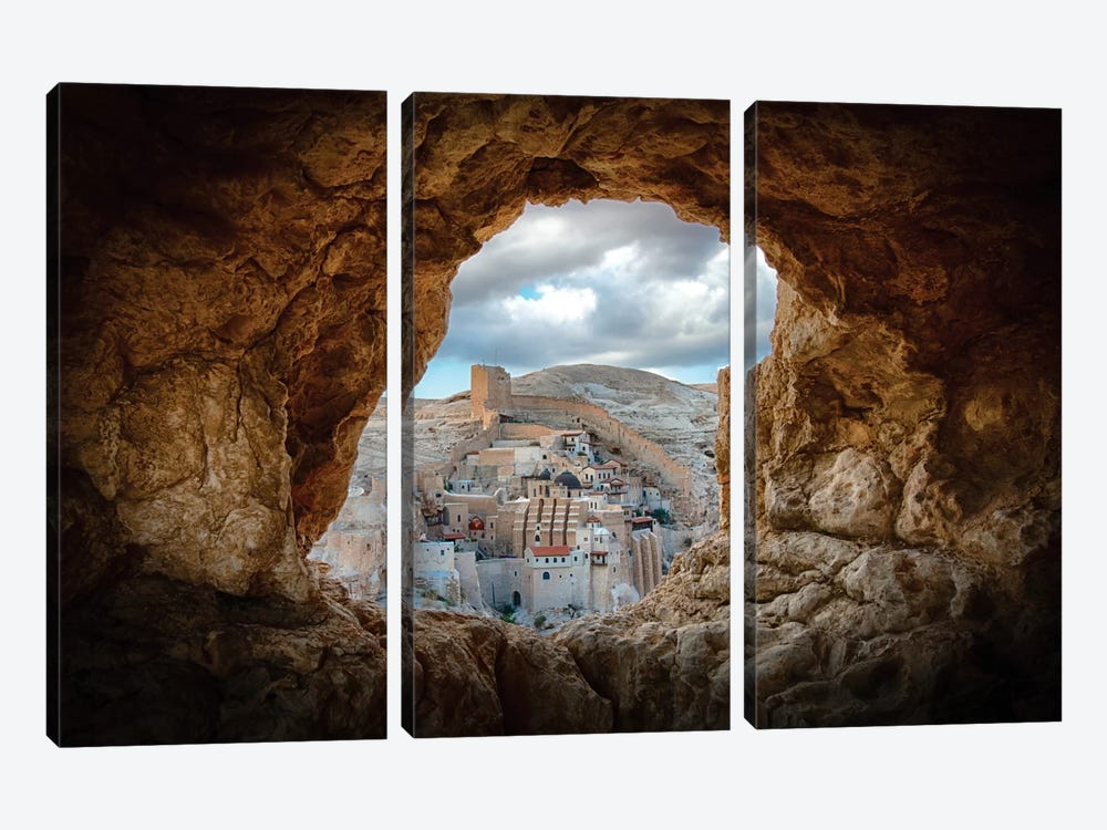 A Hole In The Wall by Ido Meirovich 3-piece Art Print