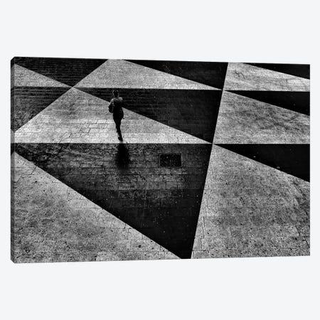 Pedestrian Plaza, Sergels torg (Sergel's Square), Stockholm, Sweden 3-Piece Canvas #OXM1530} by Ihyabozkurt Canvas Art