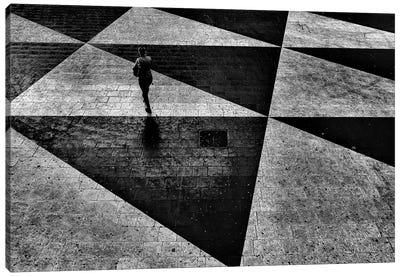 Pedestrian Plaza, Sergels torg (Sergel's Square), Stockholm, Sweden Canvas Art Print