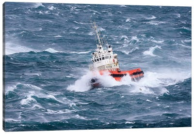 Pilot Boat Canvas Art Print