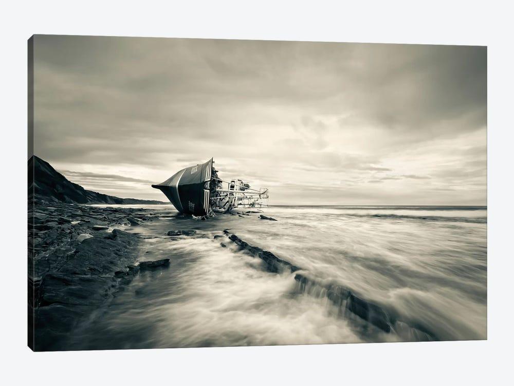 Defeated By The Sea by Iñigo Barandiaran 1-piece Canvas Artwork