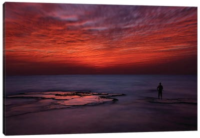 Red Sky Canvas Art Print