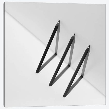 Triangles Canvas Print #OXM1551} by Jacqueline Hammer Canvas Art