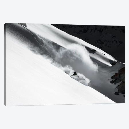 Cloud Of Snow Canvas Print #OXM1553} by Jakob Sanne Canvas Artwork