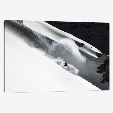 Cloud Of Snow Canvas Print #OXM1553} by Jakob Sanne Canvas Artwork