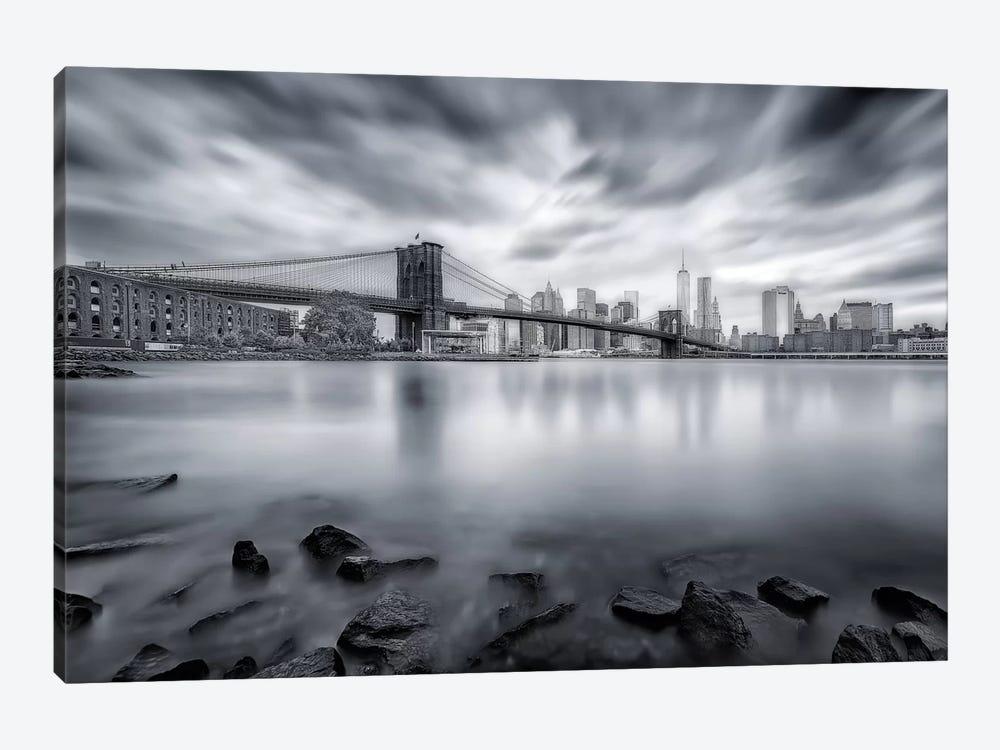 Brooklyn Bridge by Javier de la Torre 1-piece Canvas Art