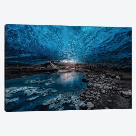 Ice Cave Canvas Print #OXM1569} by Javier de la Torre Art Print