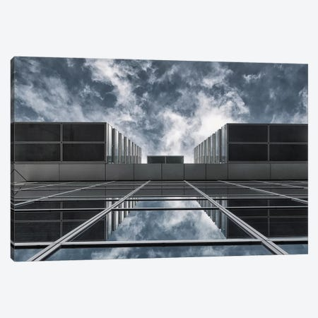 Above The City 3-Piece Canvas #OXM1578} by Jeroen van de Wiel Canvas Artwork