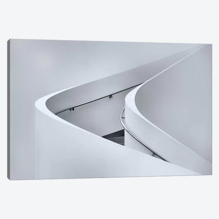 The Curved Stairs Canvas Print #OXM1581} by Jeroen van de Wiel Canvas Art Print