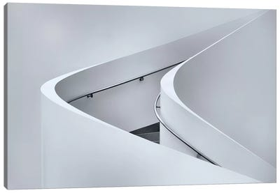 The Curved Stairs Canvas Print #OXM1581