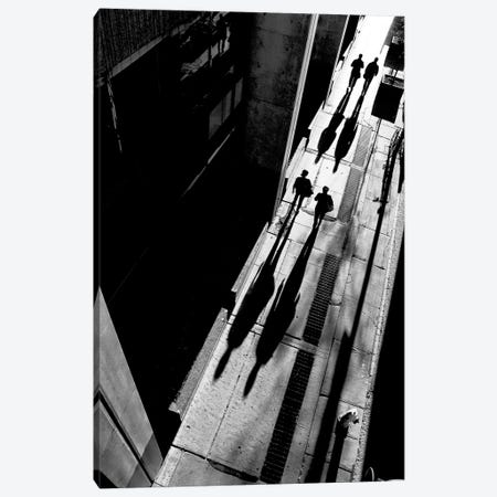 Queen Street Canvas Print #OXM1584} by Jian Wang Canvas Art