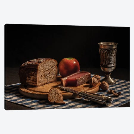 Supper Canvas Print #OXM1600} by Joe Boehmer Canvas Art
