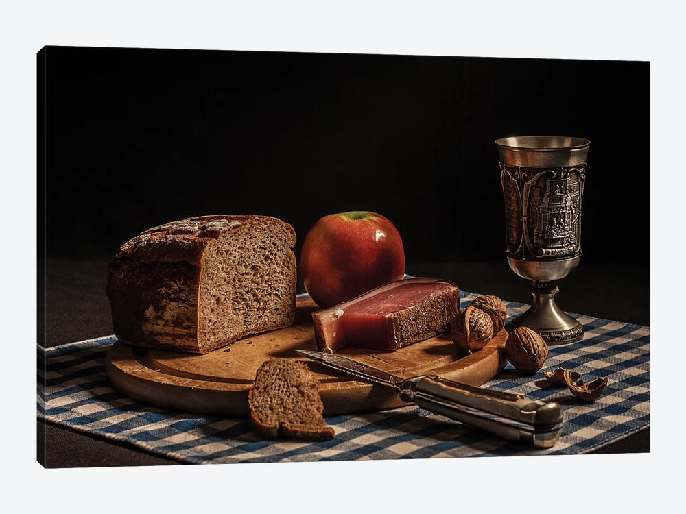 Supper by Joe Boehmer 1-piece Canvas Art Print