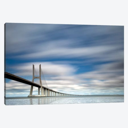 In Blue Canvas Print #OXM1614} by Jorge Feteira Canvas Wall Art