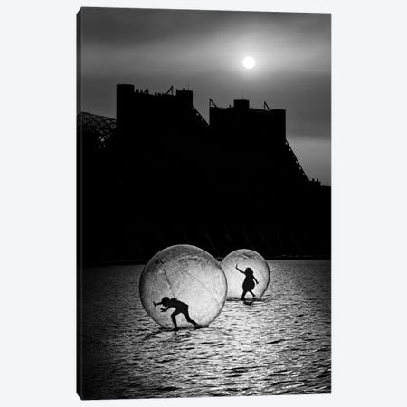 Games In A Bubble Canvas Print #OXM1621} by Juan Luis Duran Canvas Wall Art