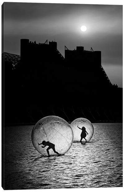 Games In A Bubble Canvas Art Print
