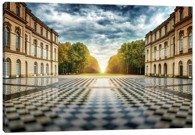 Herrenchiemsee Palace Canvas Art Print