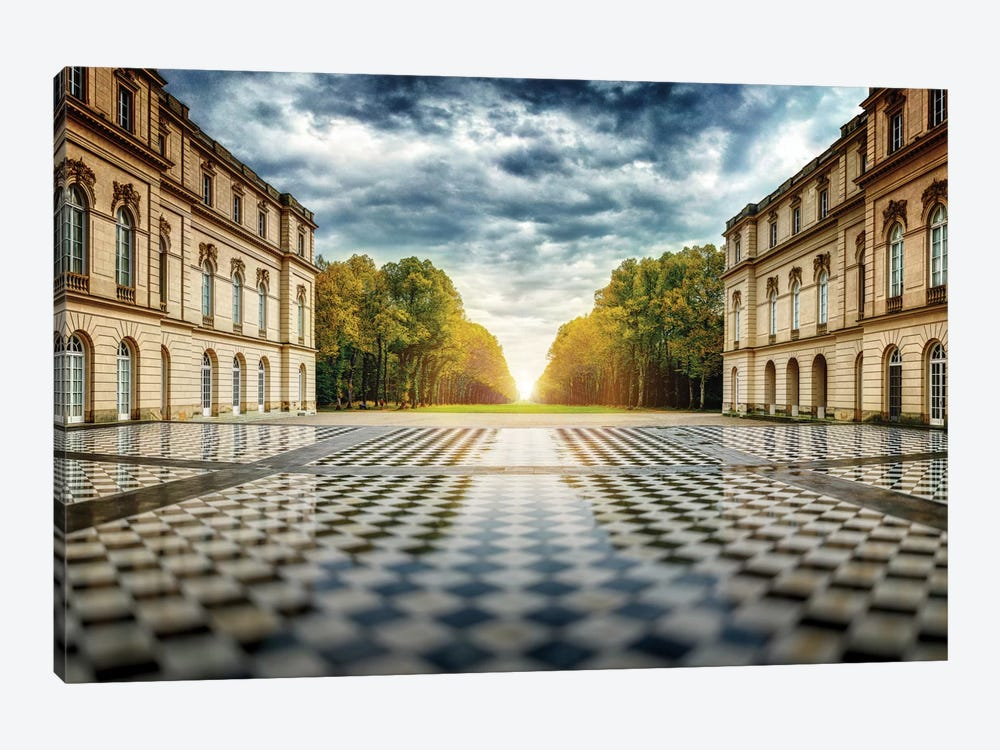 Herrenchiemsee Palace by Juan Pablo de Miguel 1-piece Canvas Wall Art