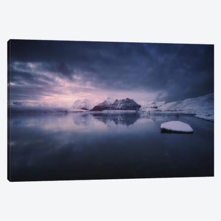 Quiet Frost Light II Canvas Print #OXM1625} by Juan Pablo de Miguel Canvas Print