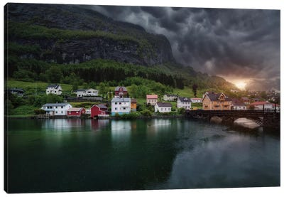 Stryn Canvas Art Print