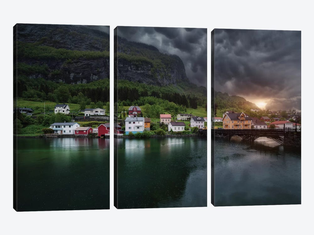 Stryn by Juan Pablo de Miguel 3-piece Canvas Art Print
