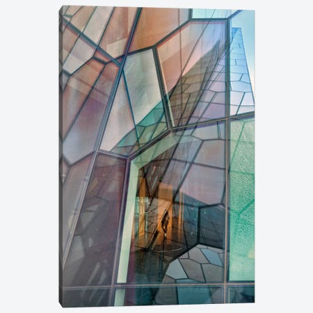 Colour Mosaic Canvas Print #OXM1636} by Jure Kravanja Canvas Art