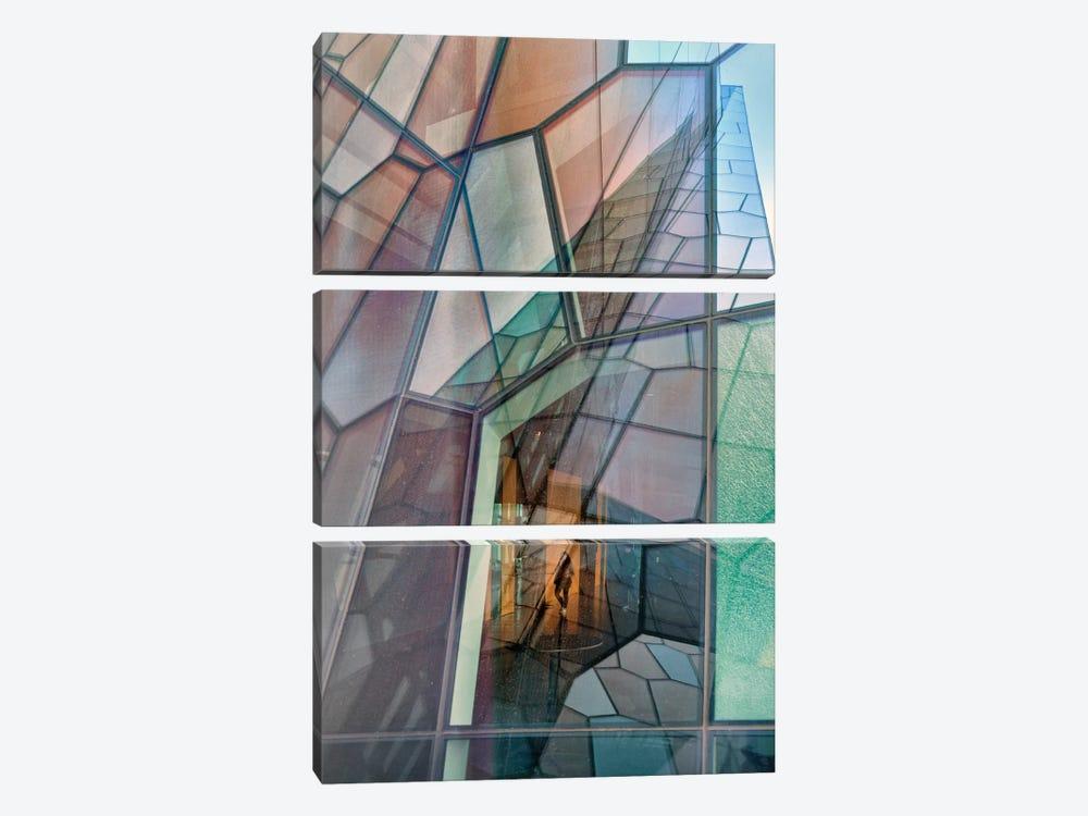 Colour Mosaic by Jure Kravanja 3-piece Canvas Artwork