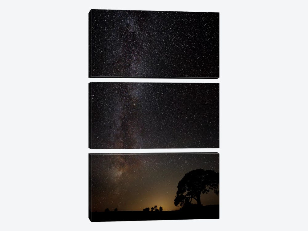 Milky Way 3-piece Canvas Print
