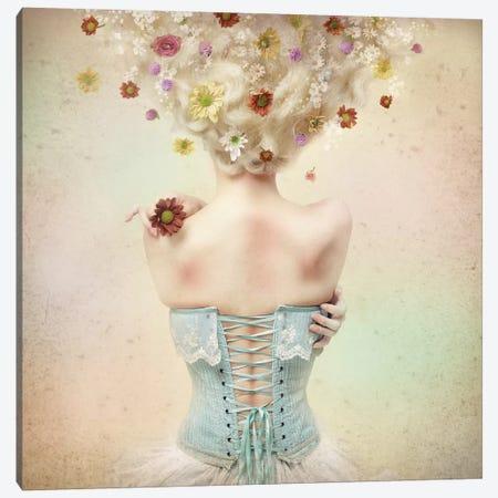 Girl Of The Flower Garden I Canvas Print #OXM1660} by Kiyo Murakami Canvas Art