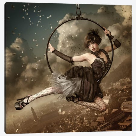 The Greatest Show In The Sky Canvas Print #OXM1663} by Kiyo Murakami Canvas Artwork