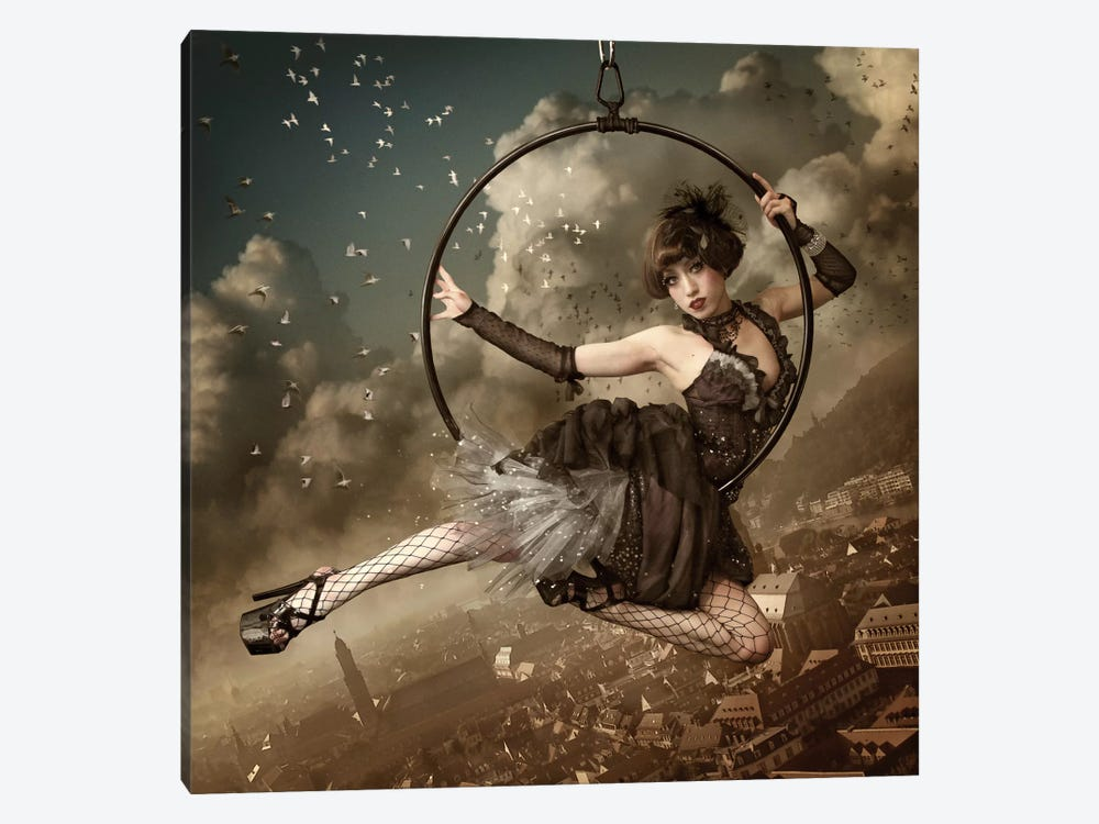 The Greatest Show In The Sky by Kiyo Murakami 1-piece Canvas Artwork