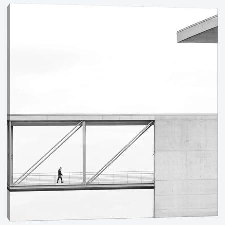 Across The Bridge 3-Piece Canvas #OXM1665} by Klaus Lenzen Art Print