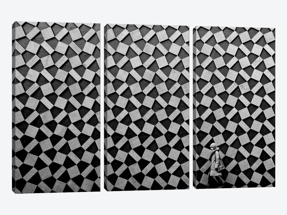 Pattern by Koji Tajima 3-piece Canvas Wall Art
