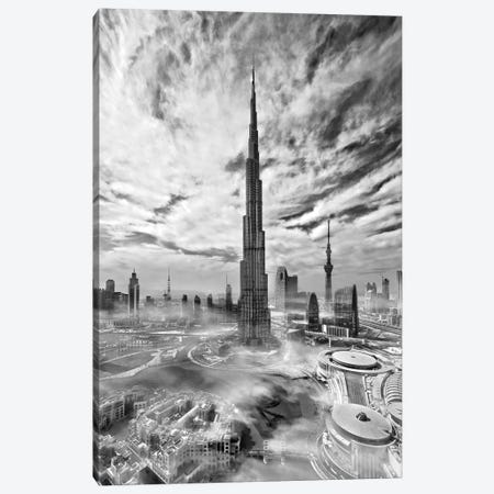 Super Skyline Canvas Print #OXM1670} by Koji Tajima Art Print