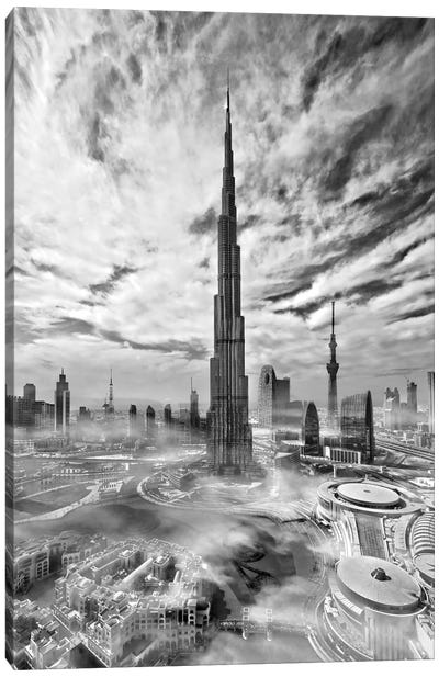 Super Skyline Canvas Art Print
