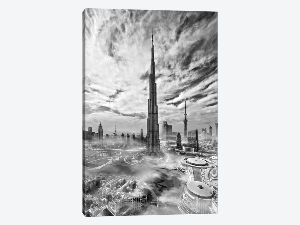 Super Skyline by Koji Tajima 1-piece Canvas Wall Art