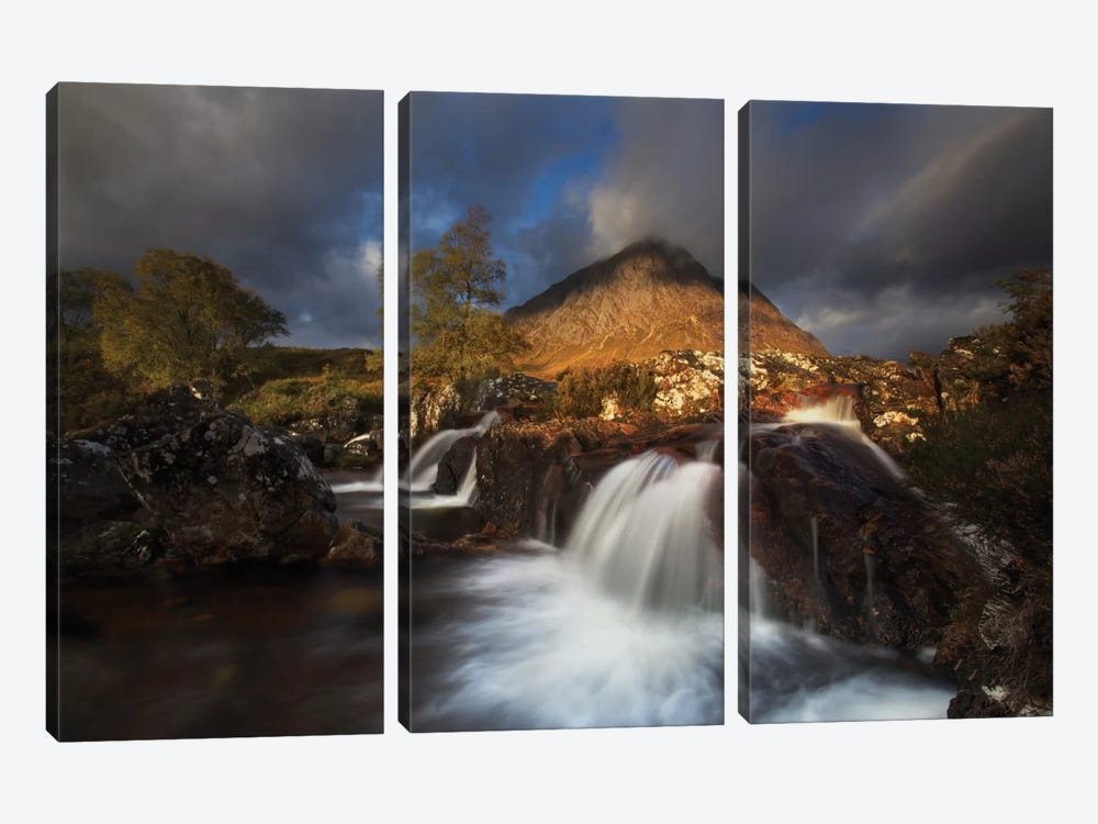 Scotland 3-piece Canvas Art Print