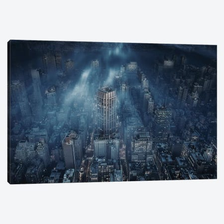 NYC Canvas Print #OXM1684} by Leif Løndal Art Print
