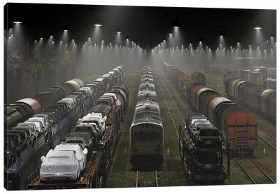 Trainsets Canvas Art Print